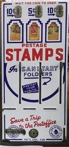 Stamp machine