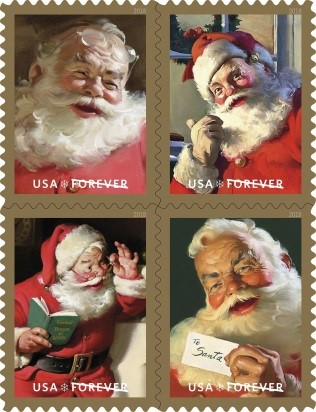 Holiday 2018 stamps 2