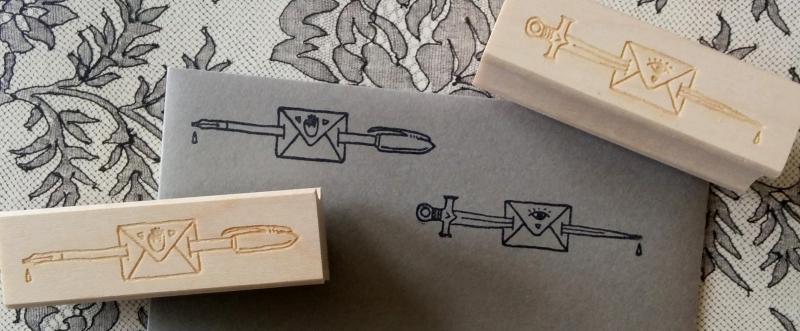 Pen sword letter