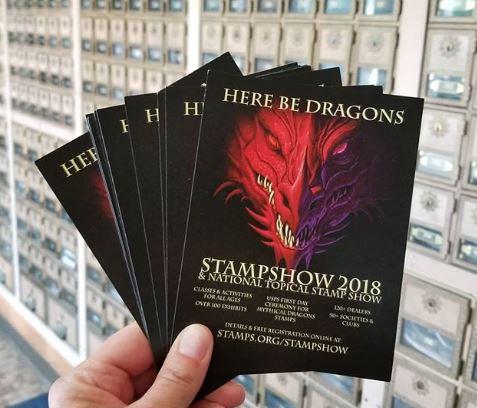 Globalpenpal stampshow dragon