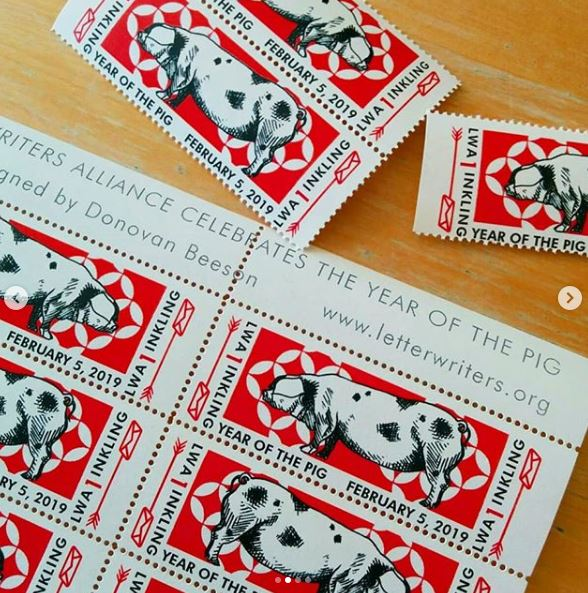 Pig stamp 02