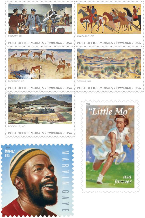 April-stamps