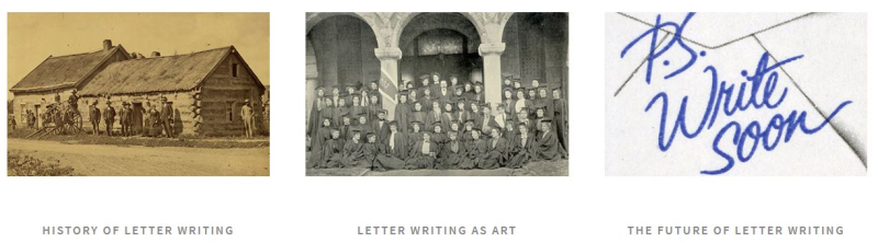 Letter writing in america